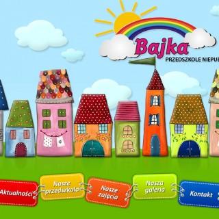 Serwis www dla Przedszkola Bajka
