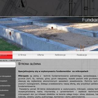 Serwis www dla firmy Faribud