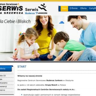 Serwis www dla firmy Gasserwis