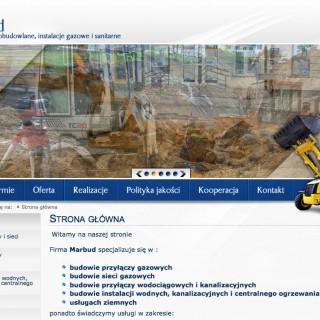 Serwis www dla firmy Marbud