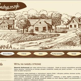 Serwis www dla Masarni Andryszczyk
