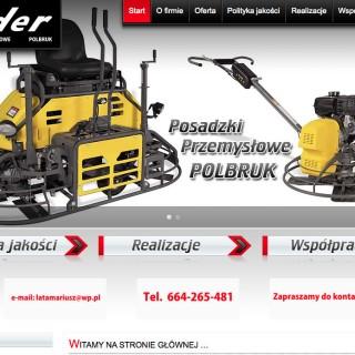 Serwis www dla firmy Lider