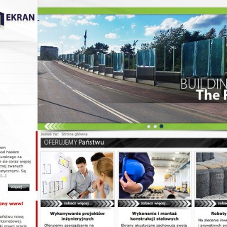 serwis www dla firmy Instal Ekran sp z o.o.